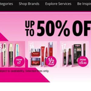 Superdrug Summer Super Beauty Sale
