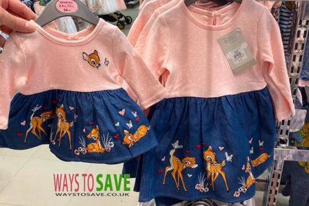 Adorable Infant Bambi Dresses Spotted At Primark