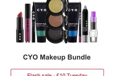 Bargain CYO Makeup Bundle Reduced Today Only At Boots